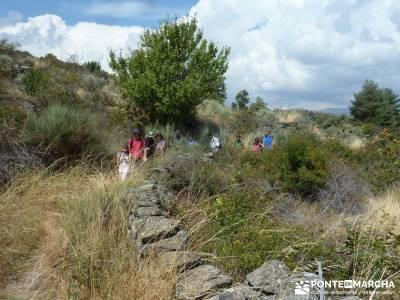 Valle del Alto Alberche;equipamiento para trekking turismo de naturaleza españa rutas senderismo si